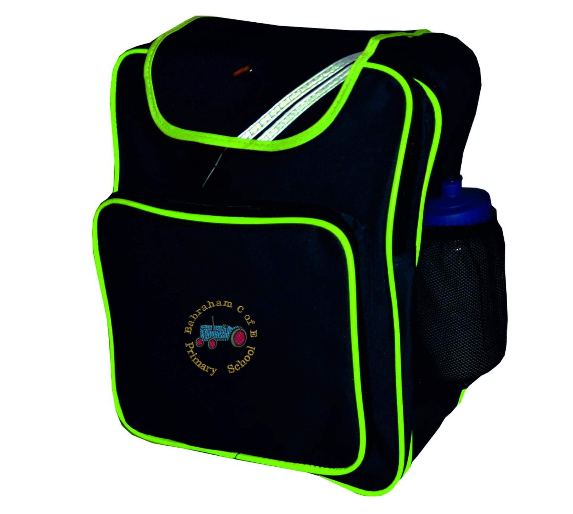 70fbe8665a61 Babraham Backpack   Free Waterbottle - Fosters Schoolwear